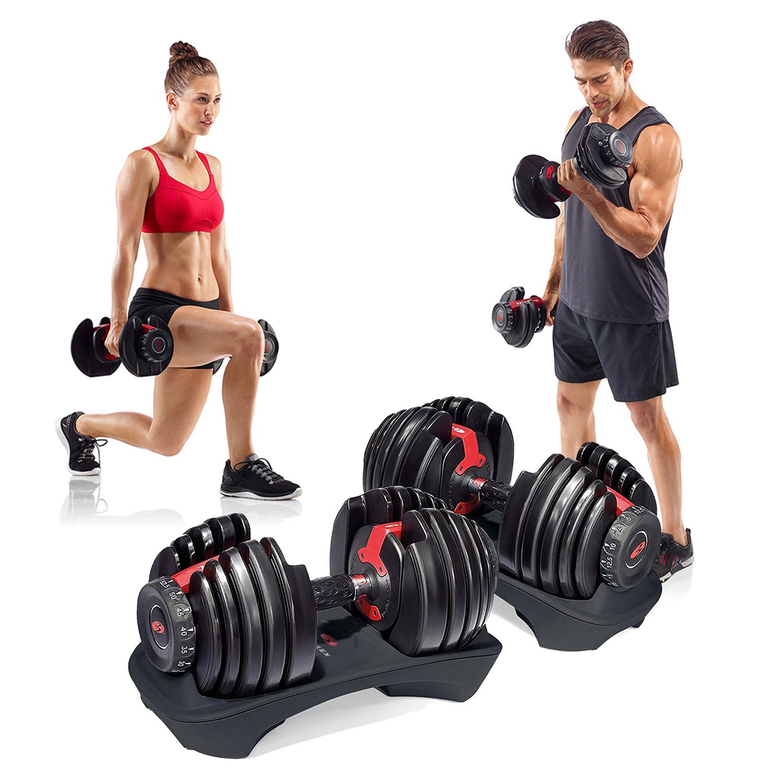 Bowflex Adjustable Dumbbells Exercises: Bowflex SelectTech 552 Adjustable Dumbbells